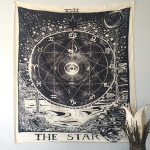 Star Tarot Tapestry