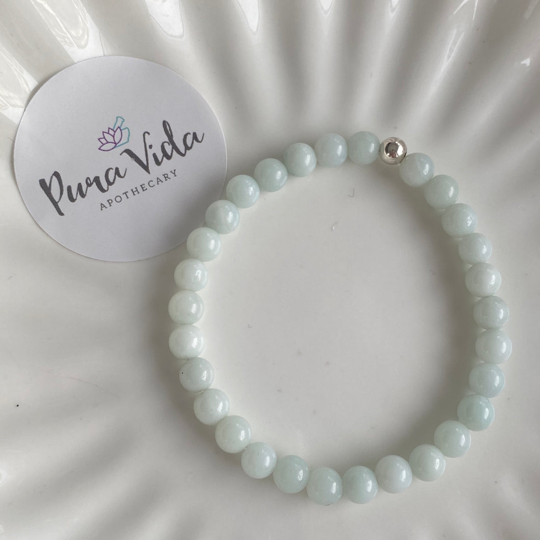 Amazonite Tiny | Sterling Silver