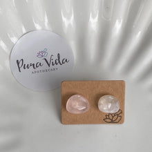 Pink Petalite Earrings