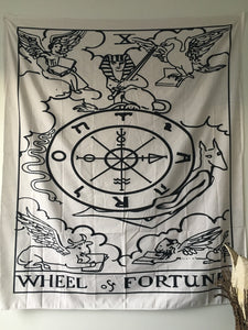 Wheel of Fortune Tarot Tapestry