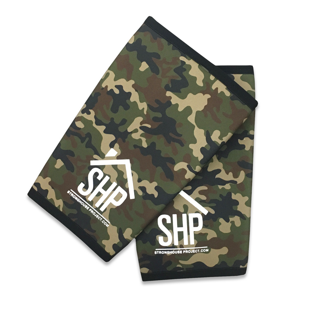 Camo/Black Reversible Knee Sleeves (Size 2XL-4XL)