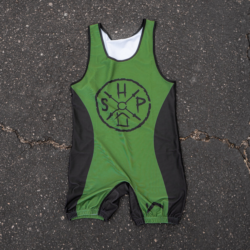 SAVAGE LOGO SINGLET OD GREEN