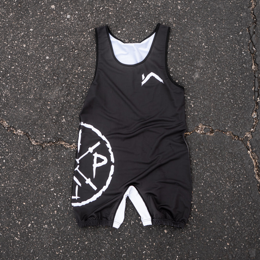SAVAGE LOGO SINGLET BLACK