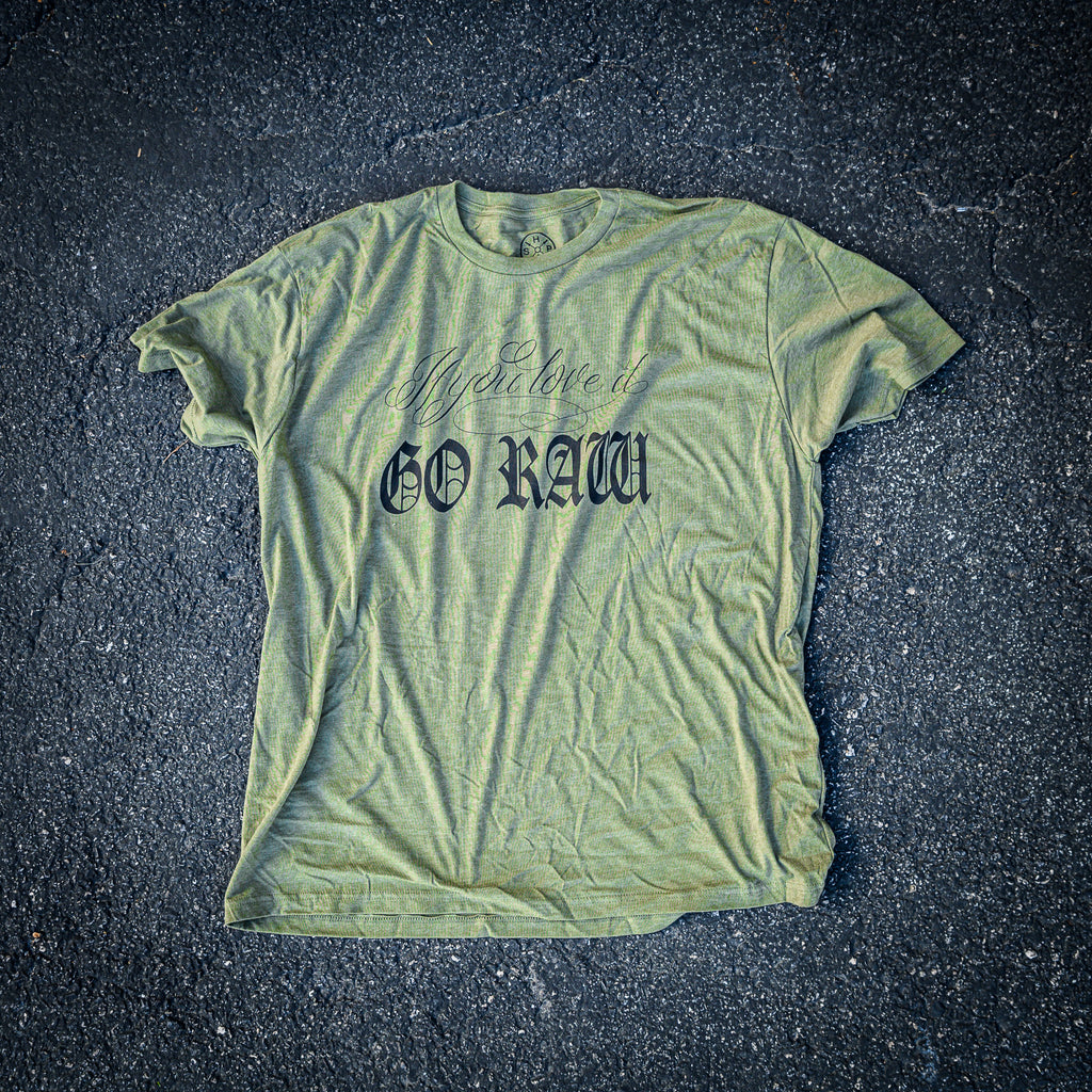 GO Raw Shirt OD Green