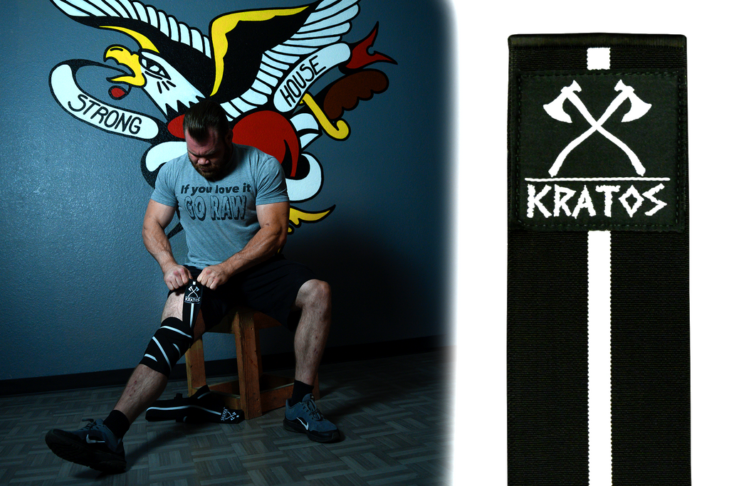 Kratos Knee Wraps - Level 2