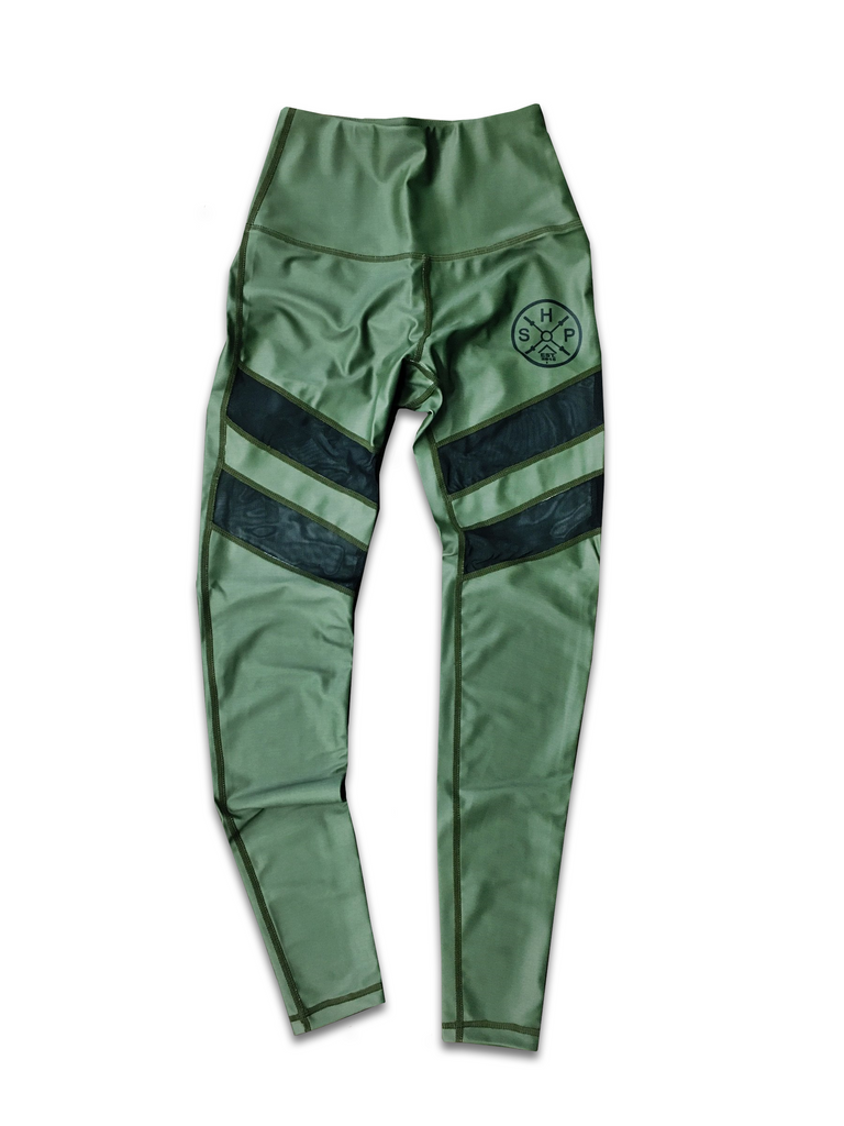 SHP Women's Leggings OD Green (All Sizes)