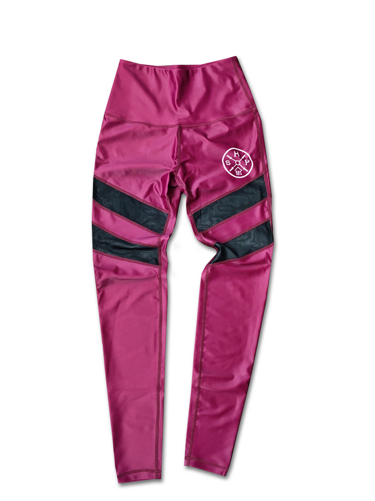 SHP Women's Leggings Maroon (All Sizes)
