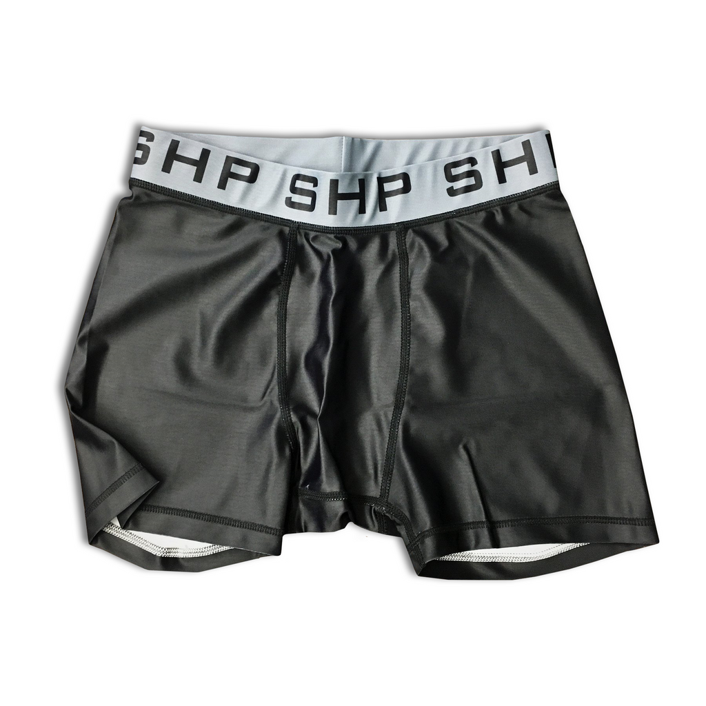 Men's Compression Shorts Black (Size Small-Medium)