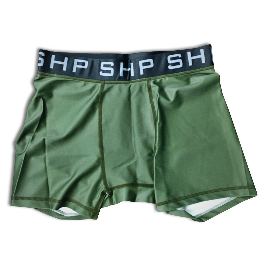 Men's Compression Shorts OD Green (All Sizes)