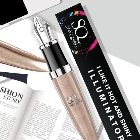 Stay Quirky Highlighter & Illuminator, Bronze, I Like It Hot & Shiny - Feelin' Your Heat 8 (4 ml)