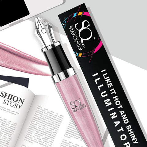 Stay Quirky Highlighter & Illuminator, Pink, I Like It Hot & Shiny - Get Licky 5 (4 ml)