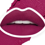 Stay Quirky Lipstick, Super Matte, Purple, Badass - Right Here Right Now 15