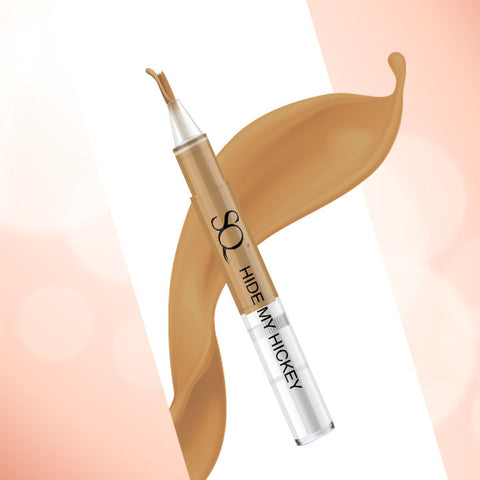Stay Quirky Flow Through Liquid Concealer Pen, Caramel, Hide My Hickey, For Wheatish Skin Tone - The One 'In Between' 8 (3 ml)