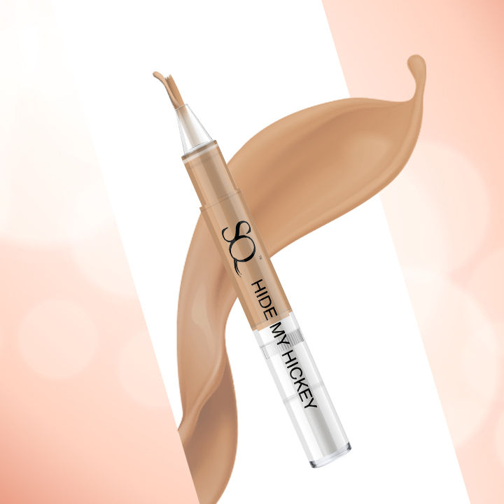 Stay Quirky Flow Through Liquid Concealer Pen, Sand, Hide My Hickey, For Fair Skin Tone - The One On The Back 5 (3 ml)