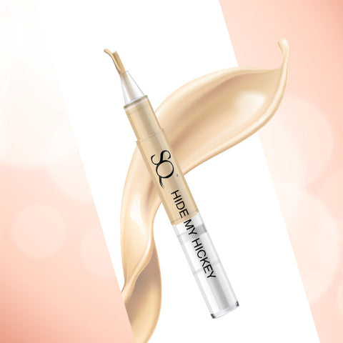 Stay Quirky Flow Through Liquid Concealer Pen, Natural, Hide My Hickey, For Fair Skin Tone - The One On The Chest 2 (3 ml)