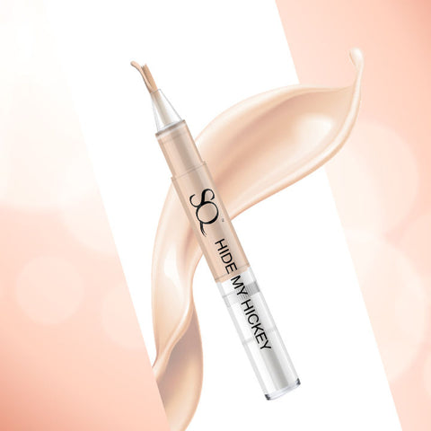 Stay Quirky Flow Through Liquid Concealer Pen, Shell, Hide My Hickey, For Fair - Wheatish Skin Tone - The One On The Inner Thigh 3 (3 ml)