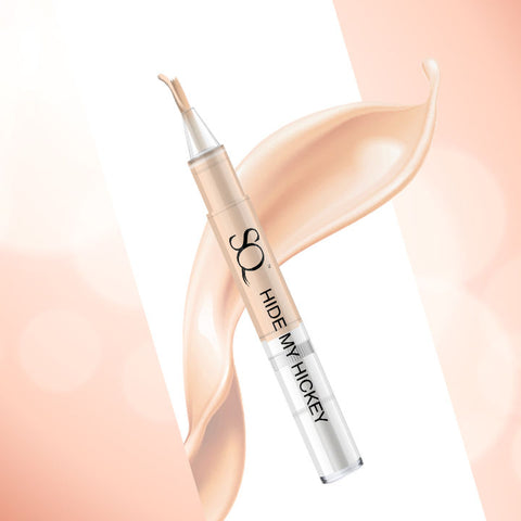 Stay Quirky Flow Through Liquid Concealer Pen, Ivory, Hide My Hickey, For Fair Skin Tone - The One On The Navel 4 (3 ml)