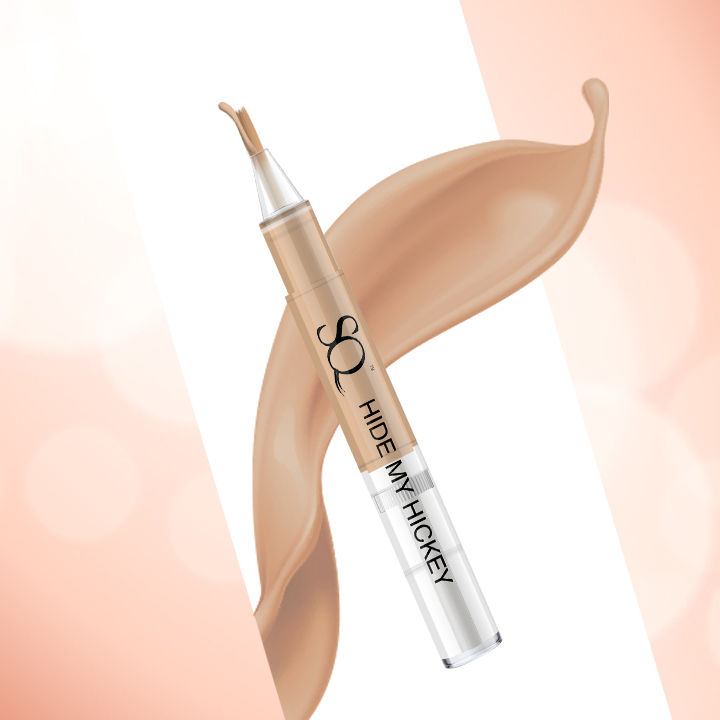 Stay Quirky Flow Through Liquid Concealer Pen, Nude, Hide My Hickey, For Wheatish Skin Tone - The One On The Shoulder 7 (3 ml)