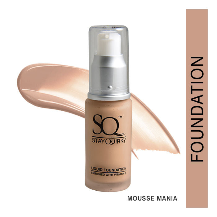 Stay Quirky Daily Wear Liquid Foundation, Mousse Mania 5