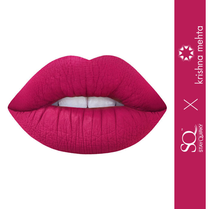 Stay Quirky Liquid Lipstick, Exclusive Krishna Mehta Range, Pink - Straight Off The Runway 5 (4.5 ml)