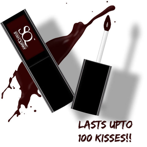 Stay Quirky Liquid Lipstick, Maroon - Vampire's Love Bite 30 (4.5 ml)