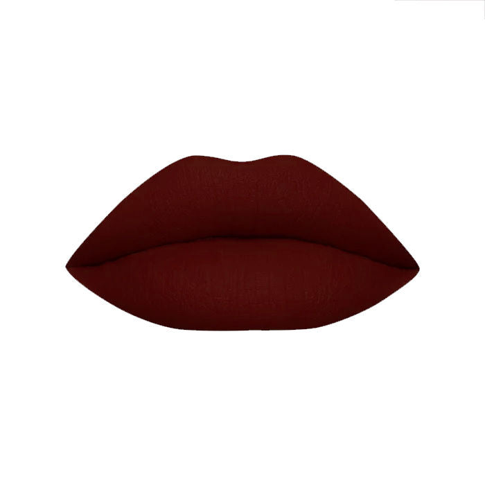Stay Quirky Liquid Lipstick, Maroon, BadAss - The Sexy Picture Show 18 (8 ml)