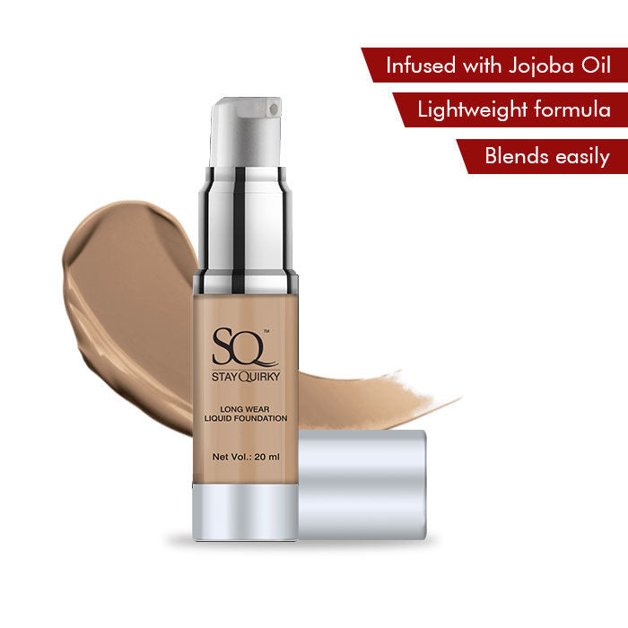 Stay Quirky Long Wear Liquid Foundation - For That Chestnut Lust 4 (20 ml)