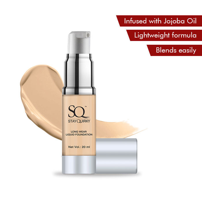 Stay Quirky Long Wear Liquid Foundation - For That Honey Comfort 1 (20 ml)