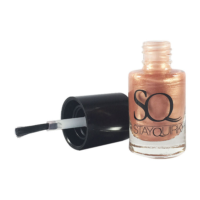 Stay Quirky Nail Polish, Gel Finish, Nude Bite 371 (6 ml)