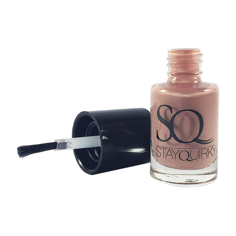 Stay Quirky Nail Polish, Gel Finish, Nude - Dudette 374 (6 ml)