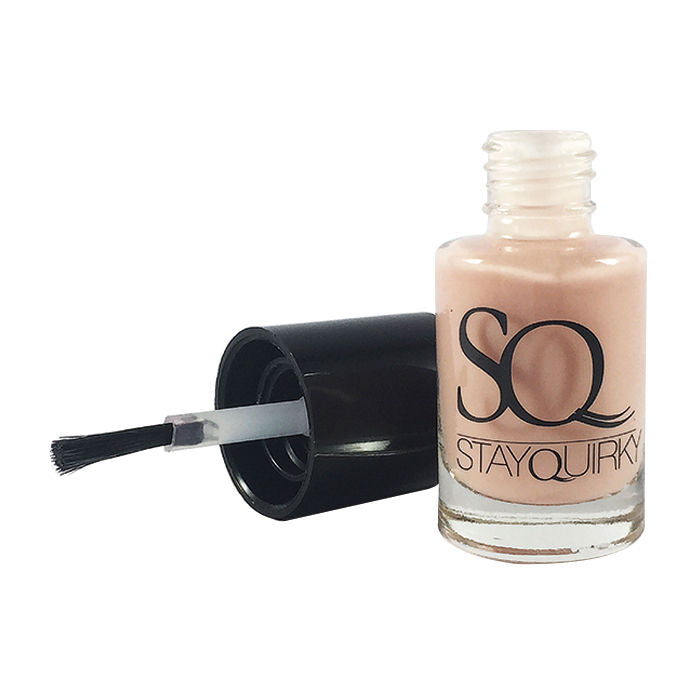 Stay Quirky Nail Polish, Gel Finish, Nude Hue 472 (6 ml)