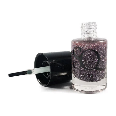 Stay Quirky Nail Polish, Glitter, Mauve - Pearls Harboured 694 (10 ml)