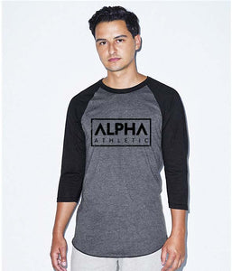 Alpha Block Baseball Shirt
