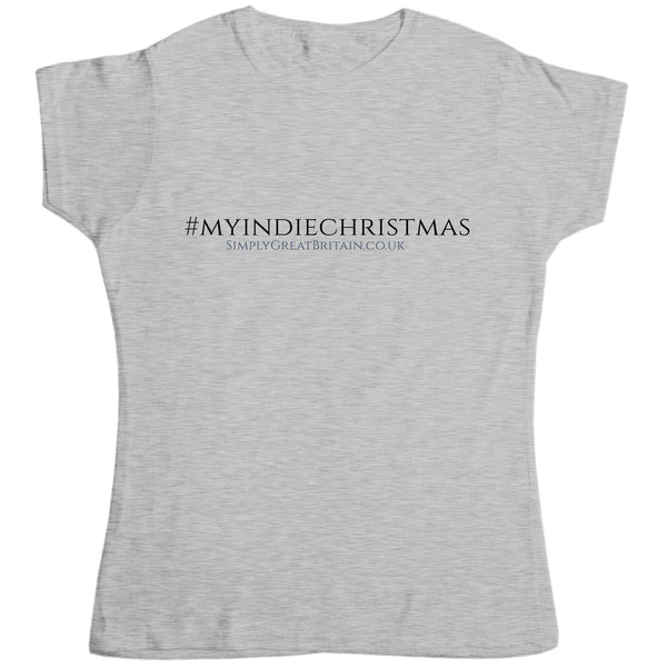 #MyIndieChristmas Womens Fitted Style EP03 T Shirt