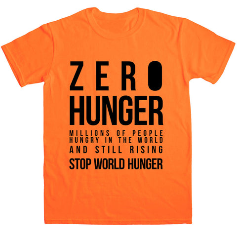 Stop World Hunger Unisex Tshirt