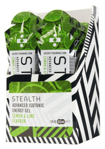 STEALTH Advanced Isotonic Energy Gel - Lemon & Lime