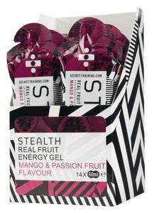 STEALTH Real Fruit Energy Gel - Mango & Passion Fruit