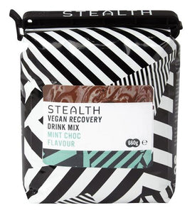 STEALTH Vegan Recovery Protein Drink Mix - Mint Chocolate