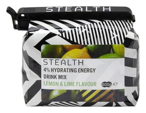 STEALTH 4% Hydrating Energy Drink Powder - Lemon & Lime