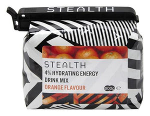 STEALTH 4% Hydrating Energy Drink Powder - Orange