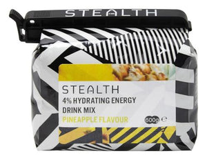 STEALTH 4% Hydrating Energy Drink Powder - Pineapple