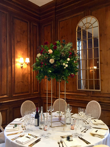 Table flowers at Hedsor House.
