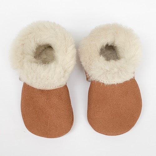 Almond Cozy Mocs
