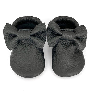 Black Bow Mocs