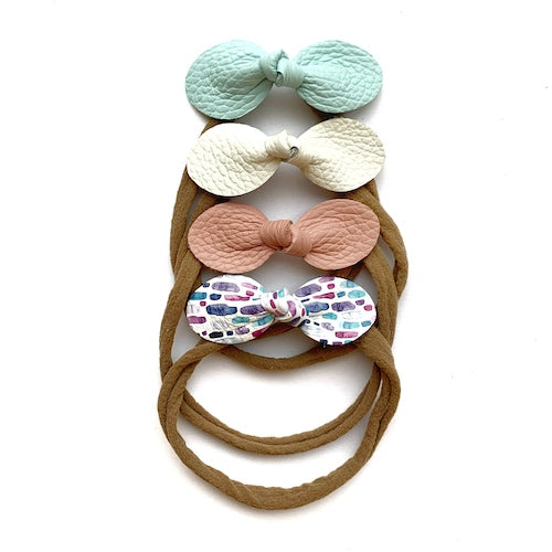 Spring Bow 4-Packs (Blue - Pink)
