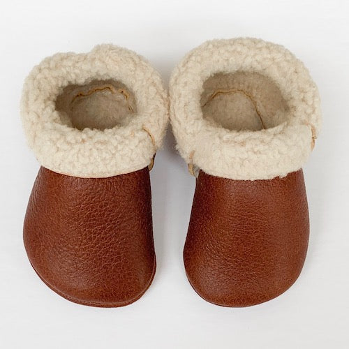 Chestnut Cozy Mocs
