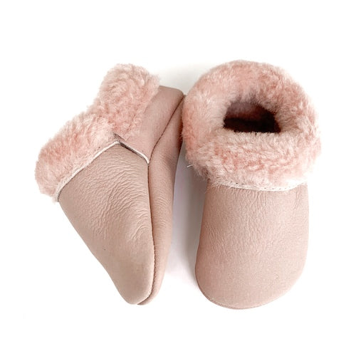 Cotton Candy Cozy Mocs