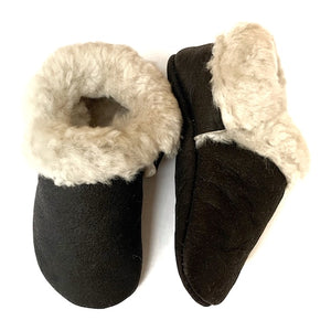 Espresso Toddler Cozy Mocs