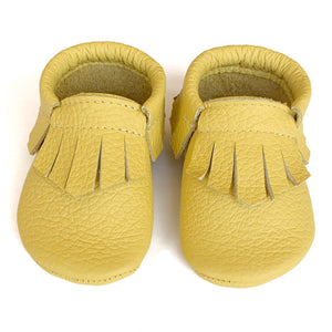 Golden Fringe Mocs