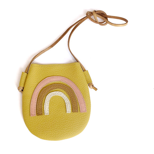 Golden Rainbow Purse
